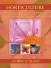 Horticulture: Principles and Practices (4th Edition), Acquaah, George, Good Book