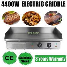 4400w 73cm Profi Elektro Grillplatte Griddleplatte BräTer Bratplatte Griddle