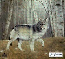 'Watchful' by Charles Frace'  L/E 1802/2500 COA PAPER PRINT