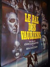 LE BAL DES VAURIENS  john cassavetes   affiche cinema 1976