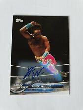 2018 Topps WWE - Xavier Woods Autograph Card - 93/99