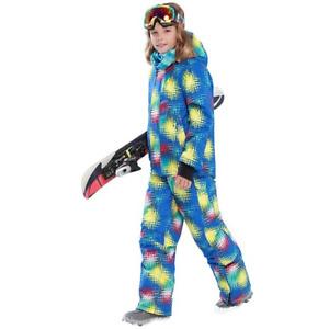 Winter Children's Ski Snowboard Suits Waterproof Outdoor Snowboard Windproof