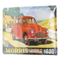 Letrero de Metal Morris Minor 30CM, Nostalgia Escudo Metal, Nuevo