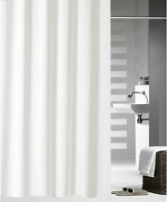 Crisp white shower curtain 2m*1.8m new free shipping