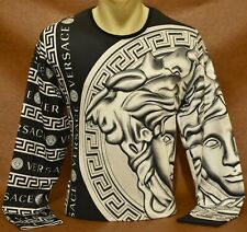 Brand New Men's VERSACE SWEATSHIRT Slim Fit Size M- L- XL- 2XL