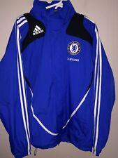 Adidas Samsung Jacket Chelsea Football Club Hooded Coat English Soccer Wind