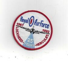 PATCH  RAF LOCKHEED HERCULES C-130 1967-1992 25 YEARS                JP