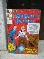 FANTASTICI 4 n 104  DI LEO ORTOLANI (RAT-MAN) RARO (il n due di quattro) RARO