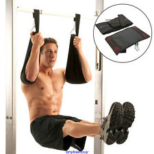 Hanging Straps Gym Up Abdominal Sling Strap Kit Door Pull Weight Lifting