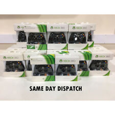 Microsoft Xbox 360 Official Wireless Controller - Black (Genuine Xbox 360) #D1