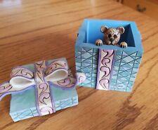 Jim Shore Treasure Box Boyd bear surprise