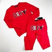 PRO STANDARD MENS 100% AUTHENTIC Chicago Bulls 2P SET Sweater & pants SIZE L
