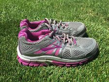 Womens Brooks Ariel Pink Gray Running Shoes size 7