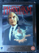 The Phantasm Collection - UK DVD 5-Disc Set - Region 2 - Phantasm 1,2,3,4