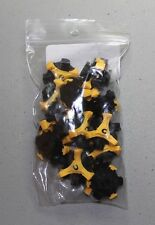 NEW Champ Stinger Yellow/ Black Q Lok System Golf Spikes Cleats Set of 18