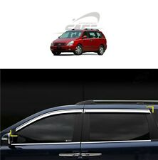 SAFE Window Door Belt Chrome Molding 4P For KIA Sedona Grand Carnival 2006 2012