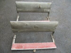 Series 1 2A 2 and 3 Land Rover rear folding bench seats