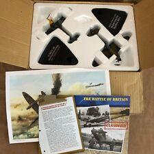 """The Battle of Britain 1:72"""" Diecast planes messerschmidtt submarine airplane set"""