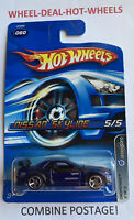 💥HOT WHEELS 2006 NISSAN SKYLINE DROPSTARS VR COLLECTABLE FREE PROTECTOR MOC💥🔸