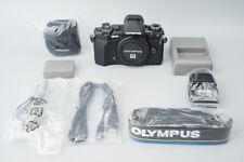 *MINT* Olympus OM-D E-M5 Mark II Mark2 Mirrorless Digital Camera Body, Black EM5