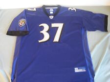 REEBOK BALTIMORE RAVENS #37 DEION SANDERS STITCHED JERSEY PURPLE MEN'S 4 XL