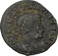 Constantine I the Great Authentic Ancient Roman Coin Sol  Sun God Cult  i45984