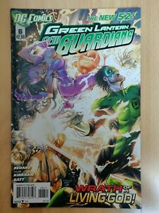 Comics Vo : Green Lantern New Guardians #6 DC New 52 2012