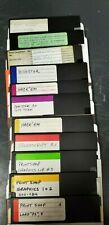 """Commodore C64/128 5.25"""" floppy disk selection/select one/$5 each"""