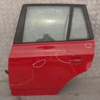 BMW X3 Series 1 E83 Door Rear Left N/S Karmesinrot Crimson Red - A61