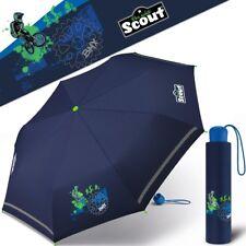 SCOUT Boys Umbrella Children Umbrella Blue Pocket Umbrella Boys Umbrella BMX New