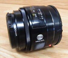 Genuine Minolta Maxxum AF Lens 50mm 1:17 (22) With Caps Bundle **READ**