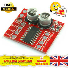 L298N Dual Channel Way DC Driver Motor Board Module PWM Arduino Raspberry Pi