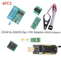 24/25 Series LCD Flash USB Programmer CH341A SOIC8 Clip EEPROM BIOS Writer