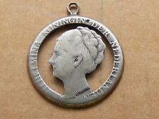 Mooi stukje sieraad, gemaakt uit 1 gulden 1930, zilver, voor armband etc.