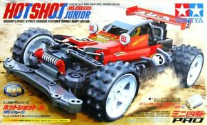 Tamiya 18624 1/32 JR Mini 4WD Pro Car Kit MS Chassis Hotshot Junior NIB