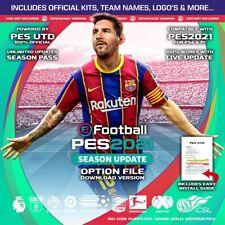eFootball PES 2021 Option File PS4  - Free Updates + Legends - v1.5 (See Photos)