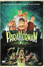 Paranorman (5) Kendrick, Bledsoe Signed 12x18 Movie Poster PSA/DNA #AB08279