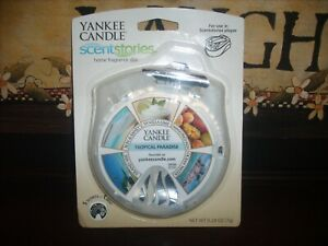Yankee Candle Scentstories Disc TROPICAL PARADISE fits Febreze NOS 1 Disk