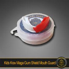 KIDS KRAV MAGA GUM SHIELD & CASE (MOUTH GUARD) - Jaw protection for children