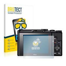 Nikon Coolpix A900 Camera,  2x  BROTECT® Matte Screen Protector, anti-glare