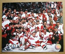Red Wings 1996-97 Center Ice Team Photo, Stanley Cup