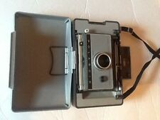 Polaroid Automatic 230 Land Camera & Flash &  case