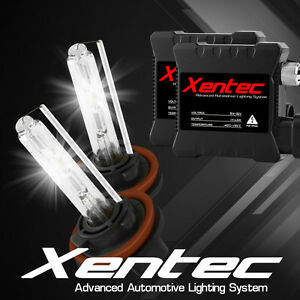 XENTEC AC 35w Xenon HID Kit Slim H11 6000K Blue Beam HeadLight Conversion Light