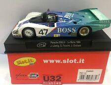 Slot.it Ca02i Porsche 956 LH Le Mans 1984 #47 - Suits Scalextric Slot Car Track