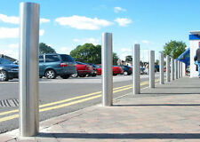 Dome Top Bollard Heavy Duty Stainless Steel Safety Car Truck Post Parking Park