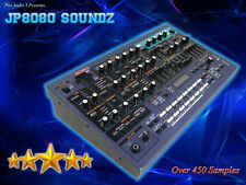JP8080 Soundz Sample CD - Pads Synths Basses Sweeps Strings - Over 450 Samples
