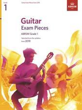 GUITAR EXAM PIECES from 2019 Grade 1 ABRSM
