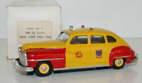AGM MODELS AGM No. 3 1/43 WHITE METAL - 1948 DE SOTO - NEW YORK TAXI CAB