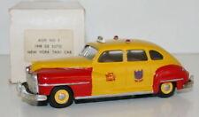 AGM MODELS AGM No. 3 1/43 WHITE METAL - 1948 DE SOTO - NEW YORK TAXI CAB