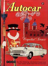 AUTOCAR MAGAZINE 1959-29/5 PONTIAC BONNEVILLE ROAD TEST - PAU GRAND PRIX